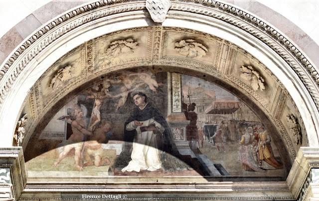 """U. Ciocchi, """"S. Tommaso d'Aquino in preghiera davanti al Crocifisso"""" (1616-18)"""