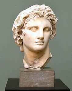 """Lisippo, """"Ritratto di Alessandro Magno"""", copia romana (I sec. d.C.)"""