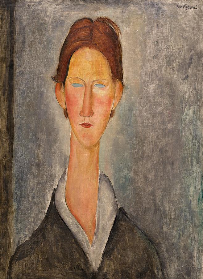 """Amedeo Modigliani, """"Lo studente"""" (1918 ca)"""