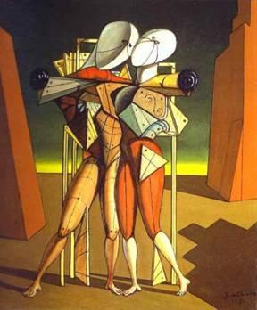 """Giorgio De Chirico, """"Ettore e Andromaca"""" (1917)"""