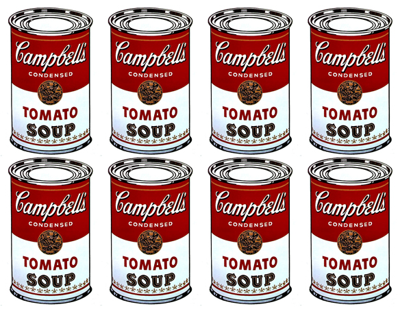 """Andy Warhol, """"Campbell's Tomato Soup"""""""