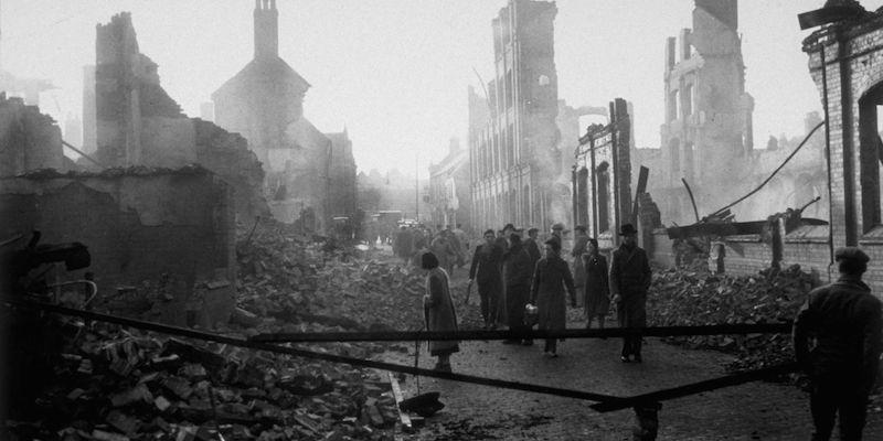 14 novembre 1940: bombardamento di Coventry