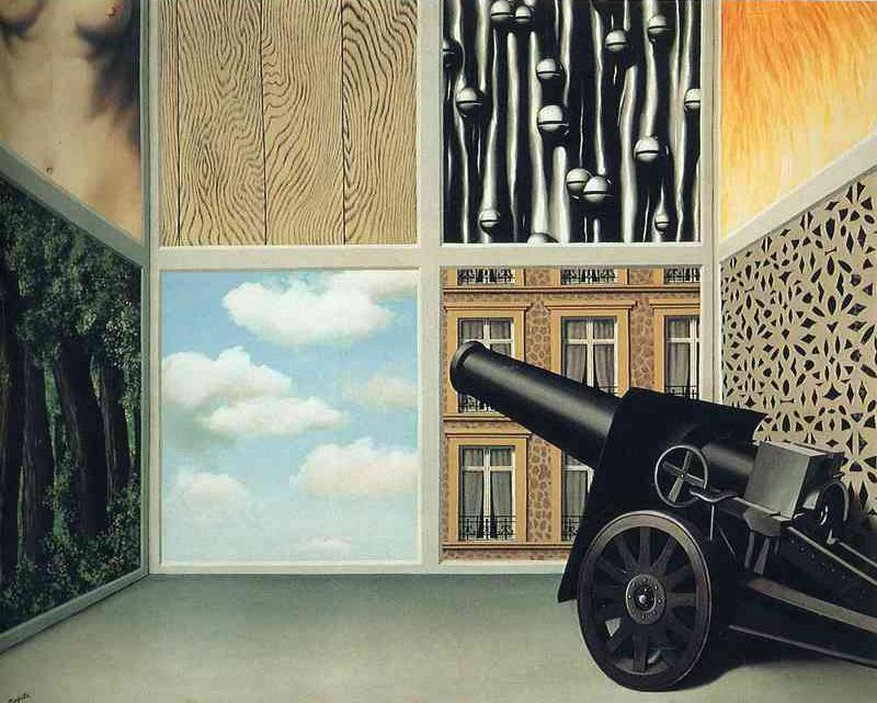 """René Magritte, """"Sulla soglia della libertà"""" (1930)"""