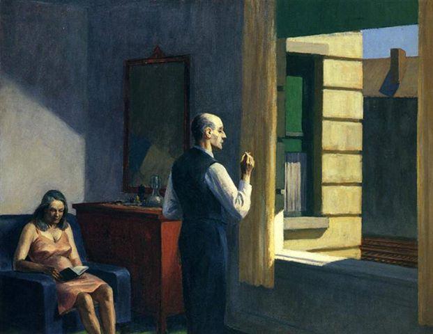 """Edward Hopper, """"Hotel by a Railroad"""", 1952"""