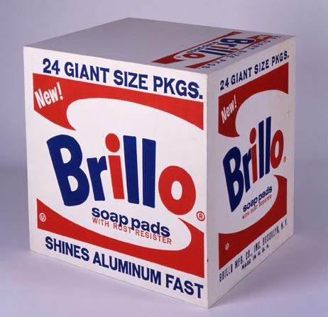 """A. Warhol, """"Brillo Box"""" (1964)"""