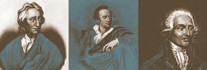 John Locke, Vittorio Alfieri, Nicolas Condorcet