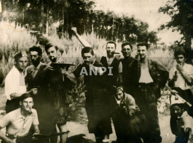 Alcuni partigiani sovietici in Friuli