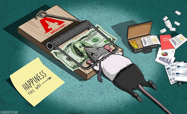 Illustrazione di Steve Cutts