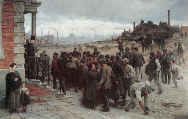 "Koheler, ""The strike"" (1886)"