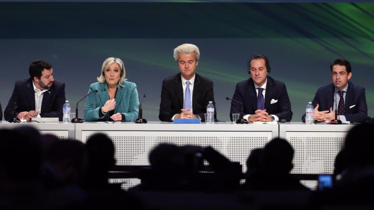 Alcuni dei leader populisti europei