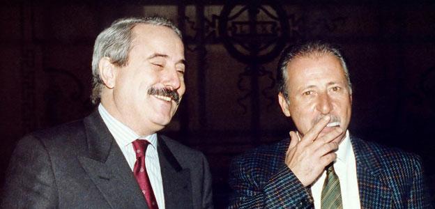 Giovanni Falcone (1939-1992) e Paolo Borsellino (1940-1992)