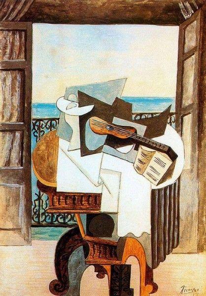 """Pablo Picasso, """"La tavola davanti alla finestra"""" (1919)"""