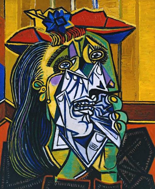 """Picasso, """"Donna che piange"""""""