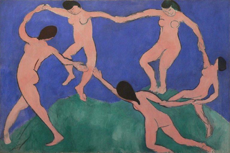 "Henri Matisse, ""La Danza"" (1910)"