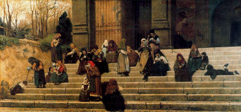 Dipinto di Federico Zandomeneghi