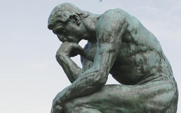 """Auguste Rodin, """"Il pensatore"""""""