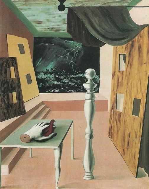 """René Magritte, """"La traversata difficile"""" (1926)"""