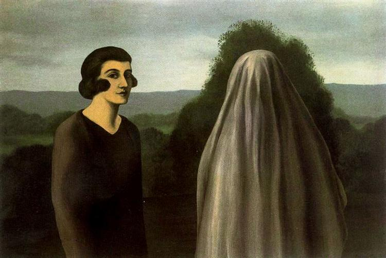 "René Magritte, ""The invention of life"" (1928)"