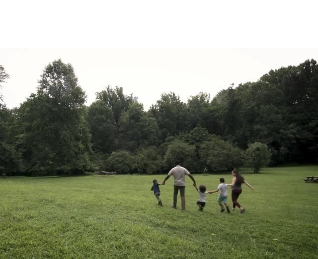 Una statua dello Yorkshire Sculpture Park