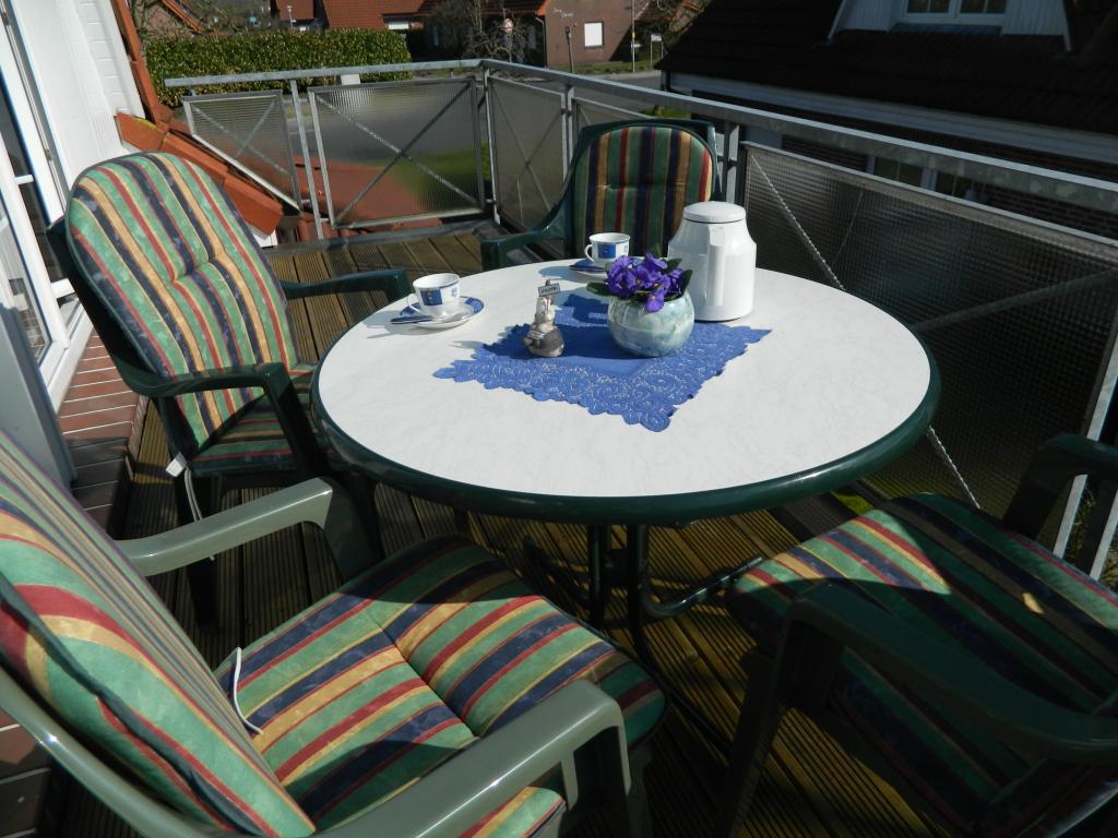 Kaffeetafel Balkon