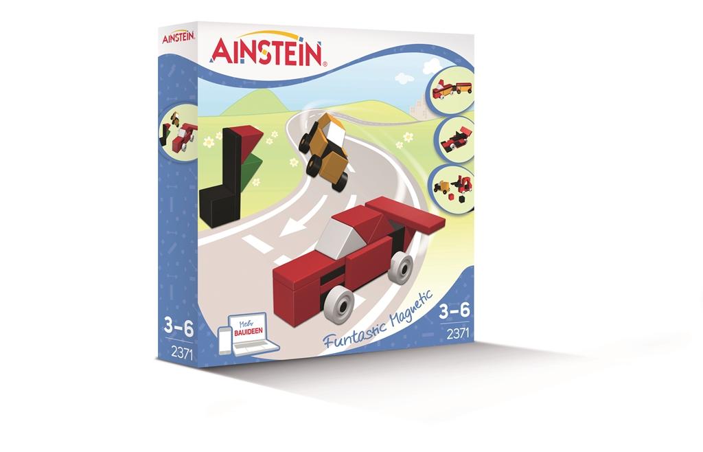 Coole Fahrzeuge - AINSTEIN Magnetbausteine