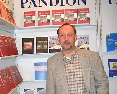 Der Autor auf der Buchmesse Frankfurt