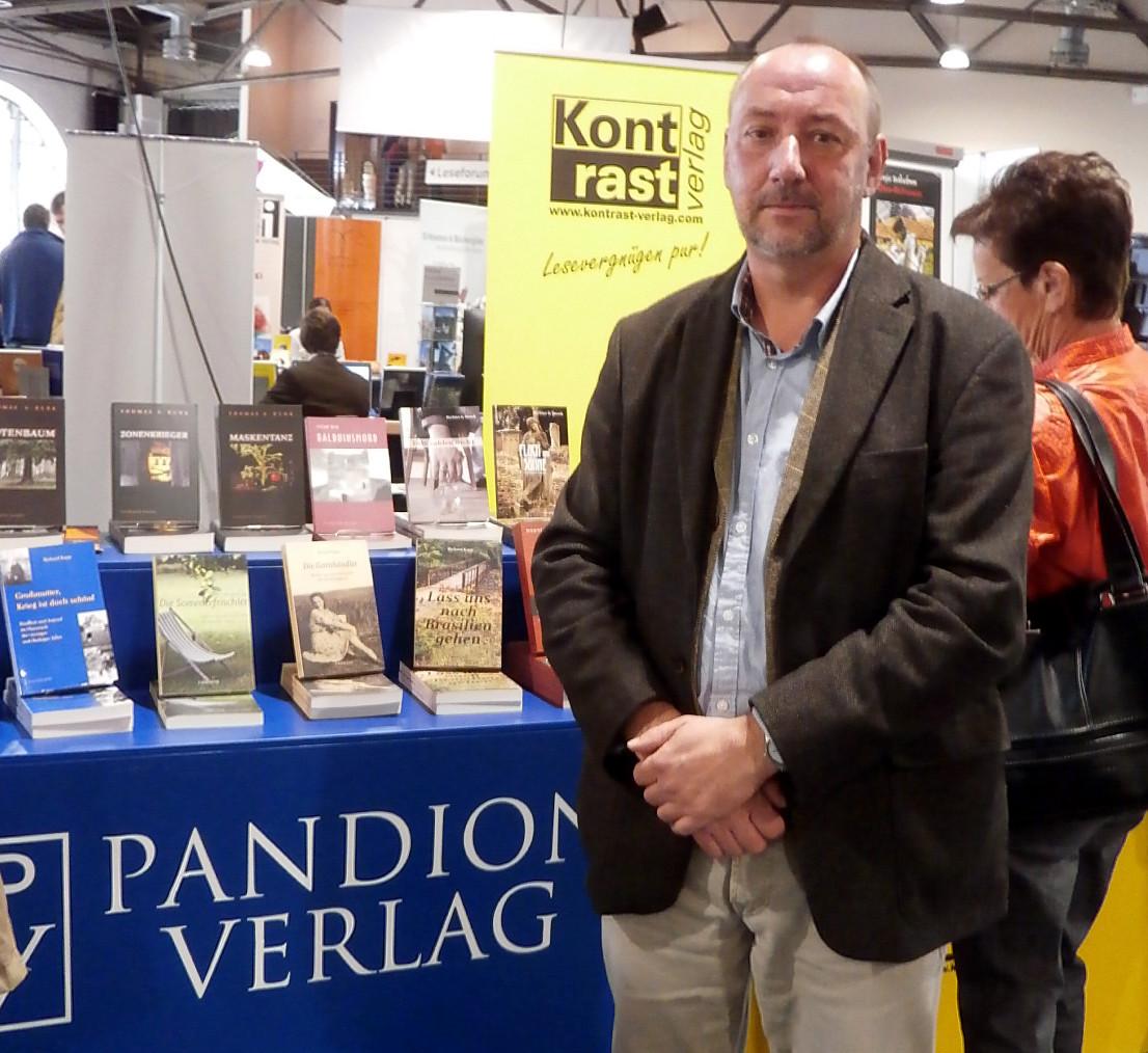Der Autor auf der Buchmesse RLP in Mainz 2015