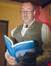 Krimiautor Stefan Nick liest aus seinem neuesten Buch