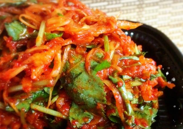 本格キムチは【キムチ屋 仁 ~jin~】~白菜だけではなくしそなどを使った和風キムチもご用意~