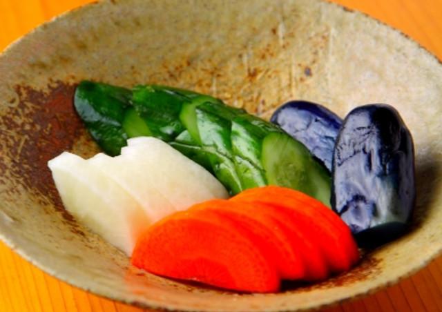 日本人の食卓に欠かせない漬物