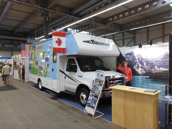 Erfurt 2015 mit Fraserway Wohnmobil