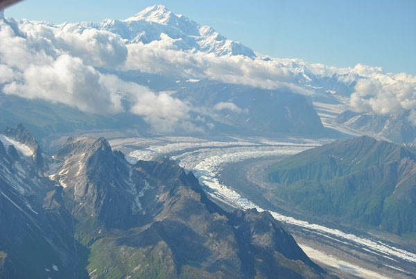 die Bergriesen des Denali Nationalpark