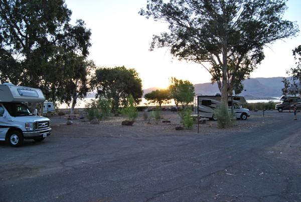 der 1.Campingplätz