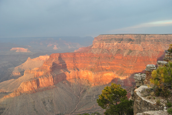 Grand Canyon am Abend