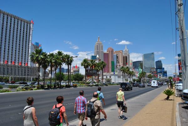 Rundgang durch Las Vegas