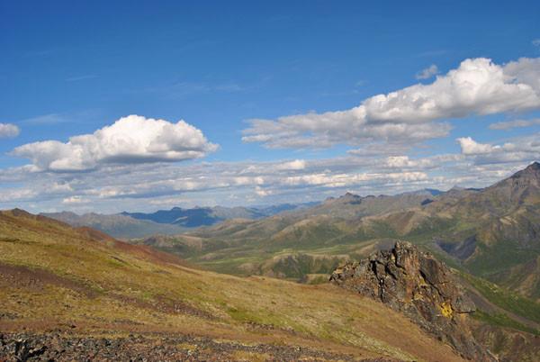 Tundralandschaften im hohen Norden