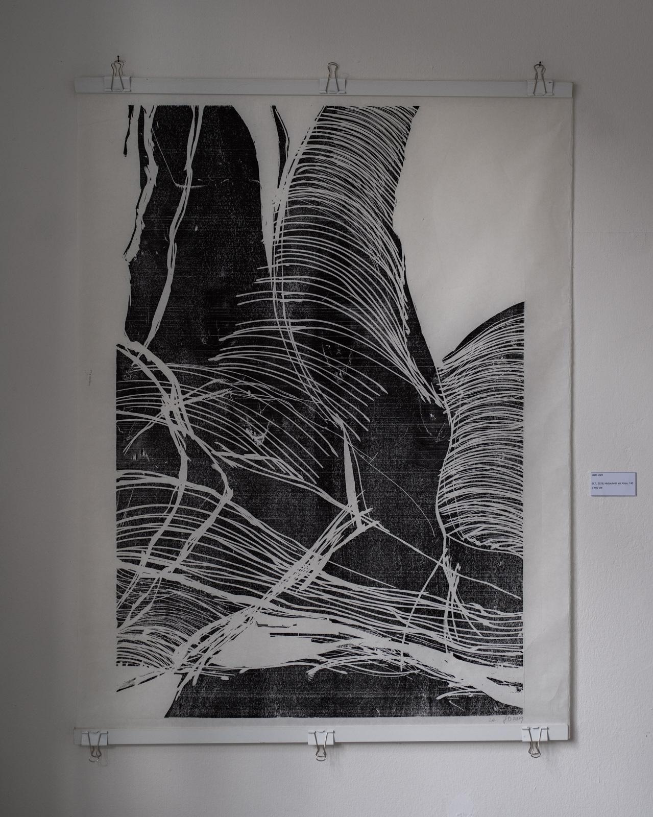 Der Ausstellungsrundgang: Gaby Dahl