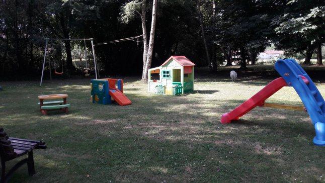 Le parc de jeu