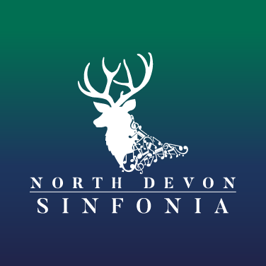 North Devon Sinfonia Festival Logo Design with Text, North Devon Graphic Designer