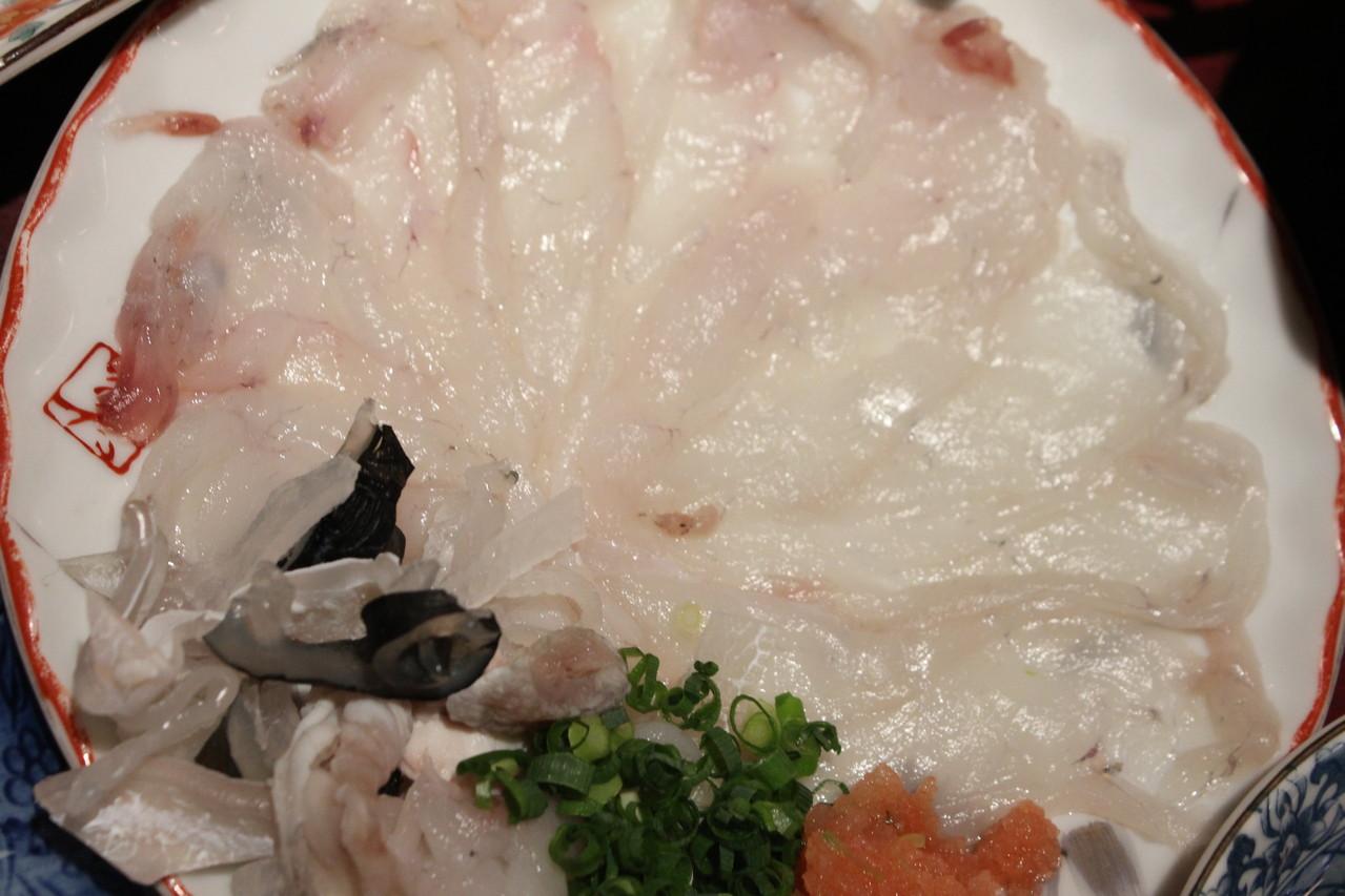 鮨 美浜 天然ふぐ料理セット てっさ