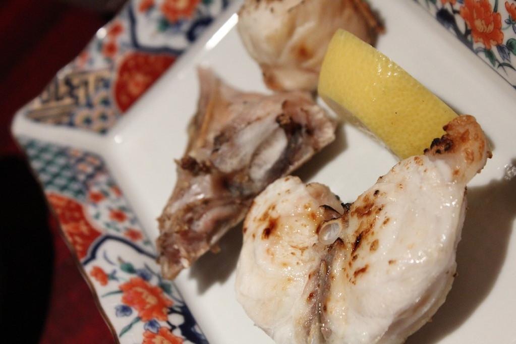 鮨 美浜 天然ふぐ料理セット 焼き物