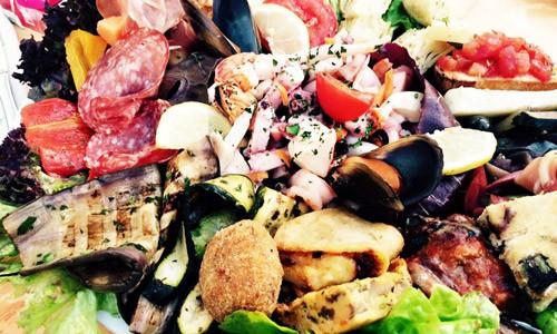 Das Marc Restaurant Burgau - internationale kulinarische Spezialitäten - Meeresfrüchtesalat