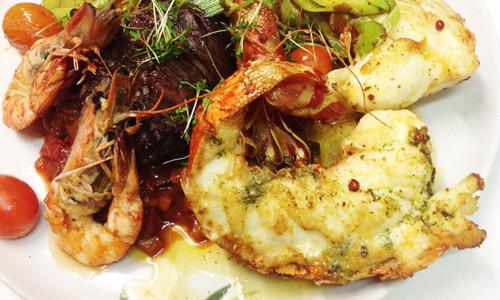 Das Marc Restaurant Burgau - internationale kulinarische Spezialitäten - Fleisch- und Fischspezialtitäten