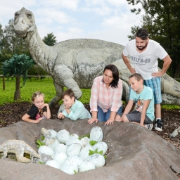 Dinopark in Praag
