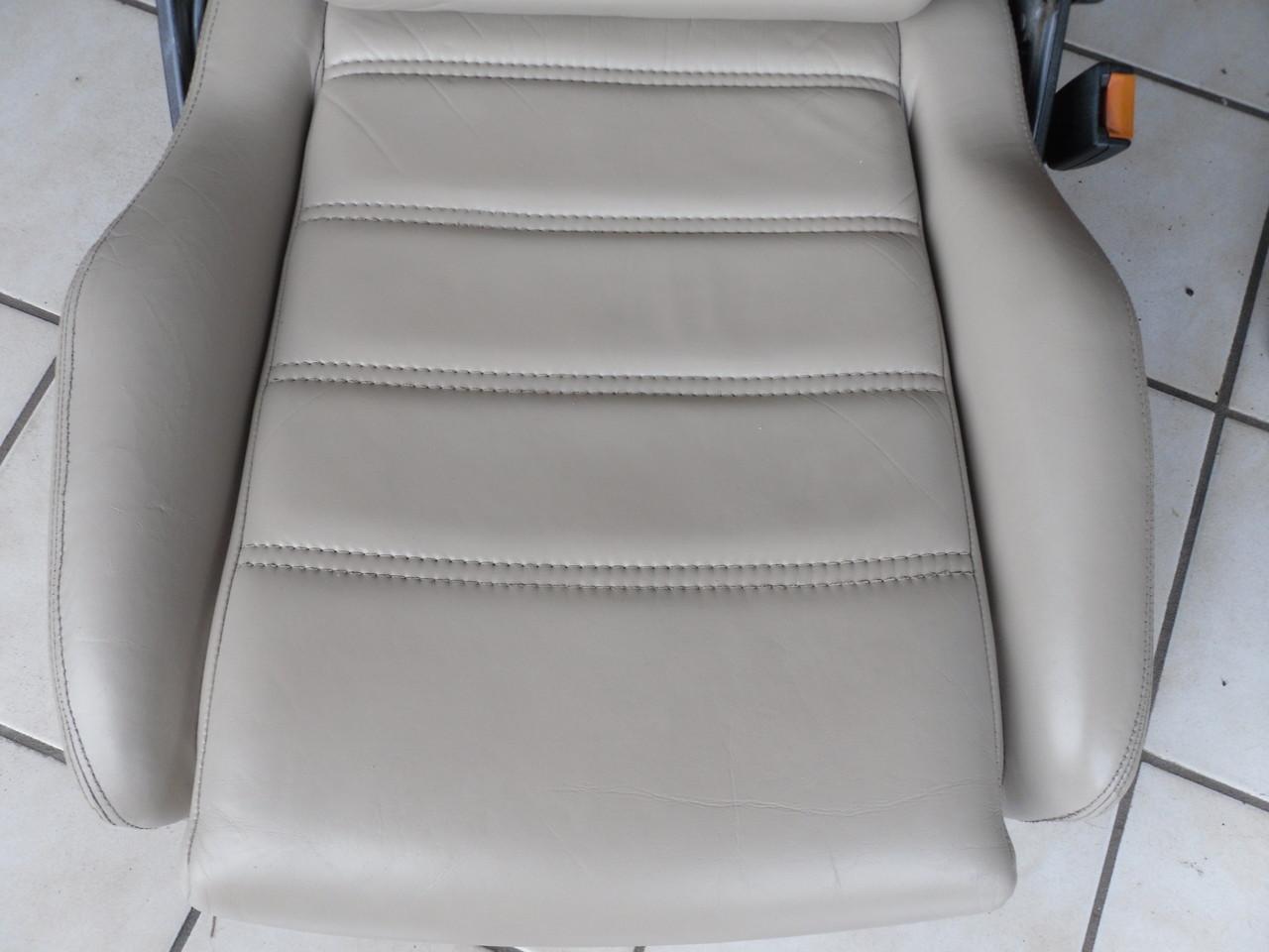 Beifahrerseite - Sitz wieder voll einsatzbereit