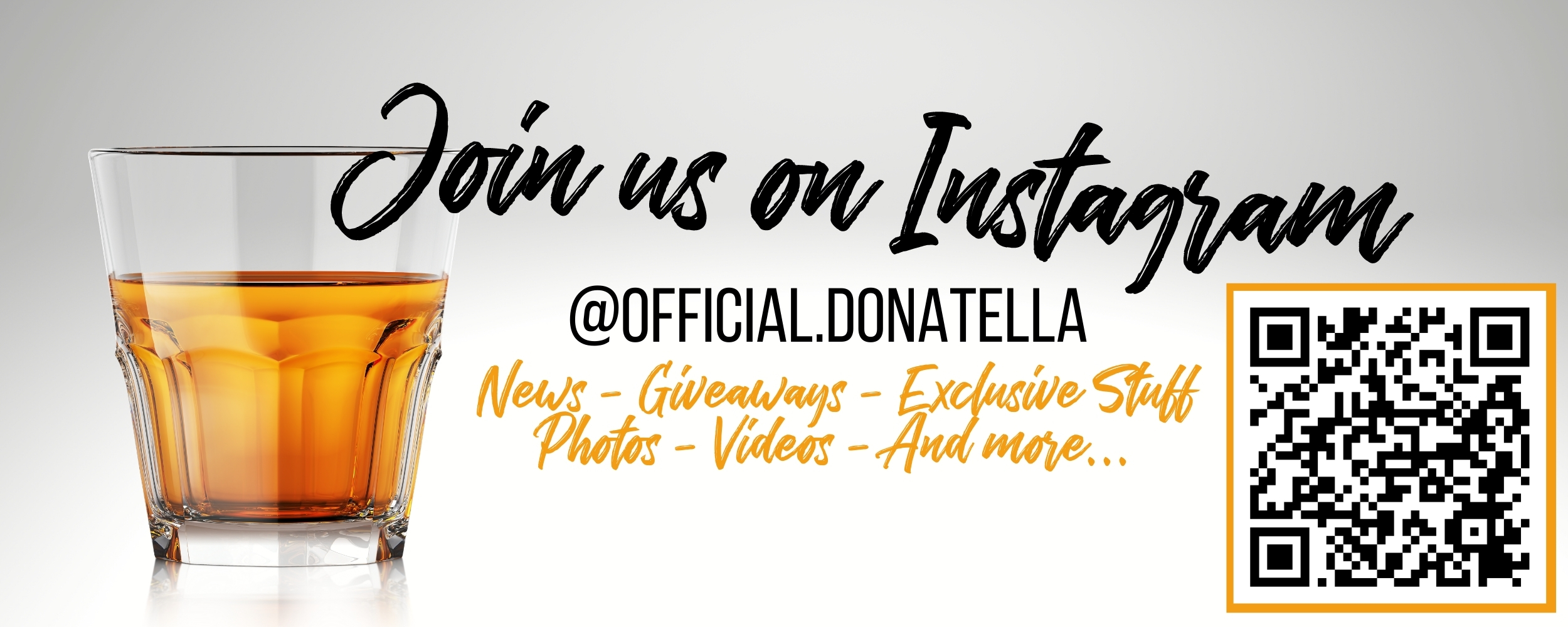 Join Donatella Whisky on Instagram @official.donatella