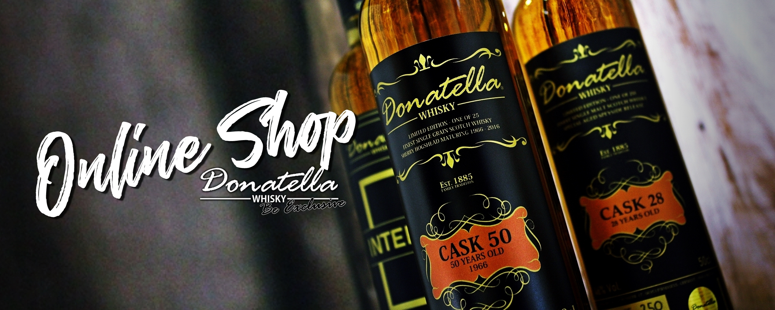Official Donatella Whisky Online-Shop