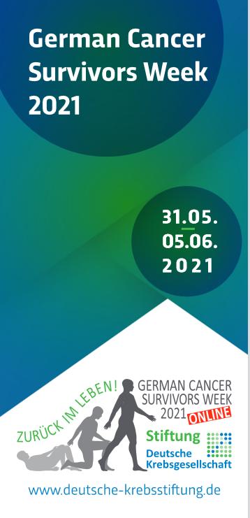 Cancer Survivors Week online: Zurück im Leben!