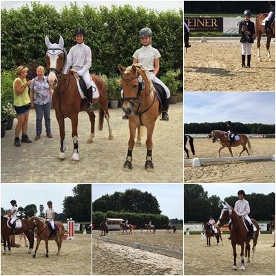 Sonniges Turnier in Münster mit Saxi und Resa