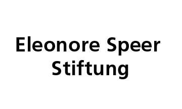 Logo Eleonore Speer Stiftung